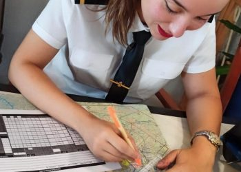 foto mujer piloto